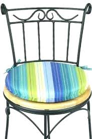 round outdoor chair cushions bistro modern cushion covers