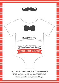 Onesie Baby Shower Invitations Onesie Baby Shower Invitations Match Your Color Style Free