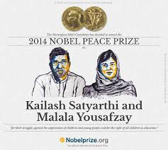 malala yusufzai wins the nobel peace prize s kailash  malala kailash
