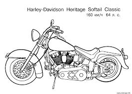 Coloriage Moto Dessin Imprimer Gratuit Coloriage Harley Davidson