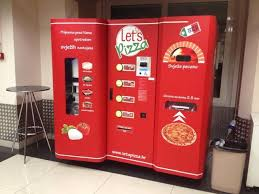 Vending Machine Pizza Simple Let's Pizza A Fresh Pizza Vending Machine In Croatia That Makes You