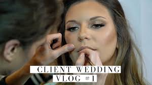 in today s video i m taking you backse at my client s wedding makeup and i m showing you 5 looks i did on that day this is my first vlog so let me know