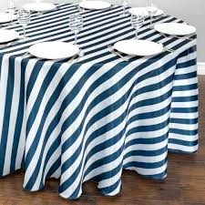 navy round tablecloth navy plastic tablecloth blue round tablecloths striped dark