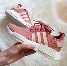 adidas shoes pink and white. shoes adidas pink sneakers running pastel salmon white light and