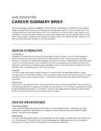 Summary Examples For Resume Delectable Resume Career Summary Examples Resume Pro