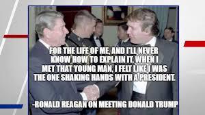 Trump Shares Fake Reagan Quote Praising Him