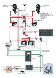 glyn's boat wiring revised drawing boat wiring help how to wire a boat switch panel at Marine Boat Wiring