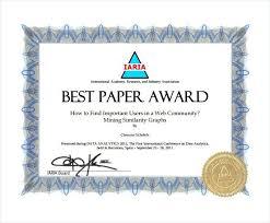 Creative Award Certificate Template Certificates Employee Yakult Co