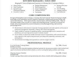 Resume Template Kitchen Helper Kitchen Manager Resume Sample Kitchen ...