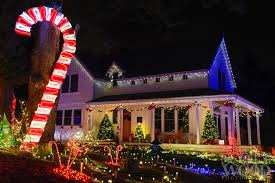 Candy Cane House Decorations It's A Candy Cane House Scott Wood Photography 28