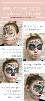 day of the dead makeup tutorial find out how to create this look with a step by step tutorial that walks you through it