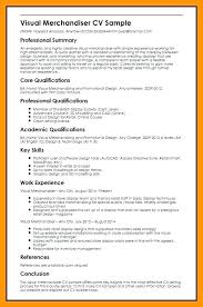 Retail Merchandiser Resume Sample Retail Merchandiser Resume Visual