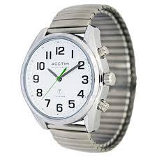 clocks and watches rnib online shop rnib ladies talking watch expanding bracelet strap