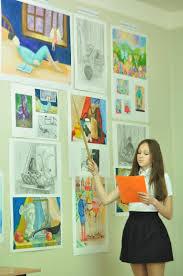 Балашовская детская художественная школа имени В Н Бочкова   свои дипломные работы На оценку экзаменационной комиссии были представлены работы по рисунку живописи 2 работы по композиции и работы по скульптуре