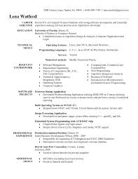 Template Software Engineer Resume Summary Format Experienced Sample