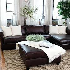 simple and neat decorating ideas living room for brown couch rugs couches area leather rugs for brown couches