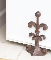 Ordinary Padded Door Stops Fleur De Lis Cast Iron Door Stop Decorative Door  Stopper Wedge Padded