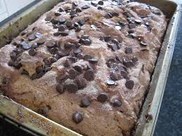 Mix in half of the sour cream, followed by another 1/3 of the dry ingredients, until just combined. Chocolate Chip Coffee Cake Recipe Cooking With Alison