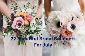 july wedding. 22 Beautiful Wedding Bouquets for July