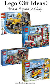 Best Lego Gift Ideas for a 5 Year Old Boy! Including lego city trucks, \u2022 The Pinning Mama