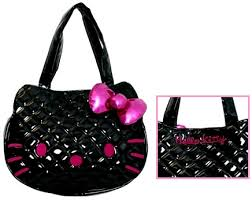 Loungefly Hello Kitty Black Quilted Face Bag - The Princess Store & Loungefly Hello Kitty Black Quilted Face Bag Adamdwight.com