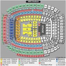 Houston Reliant Stadium Seating Chart 14 Precise Nrg Stadium Seating Chart Disney On Ice