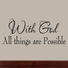 com with all things are possible faith wall decals religious es family