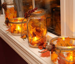 Decorations Using Mason Jars to make fall mason jar lanterns I'd just like to see these in a 78