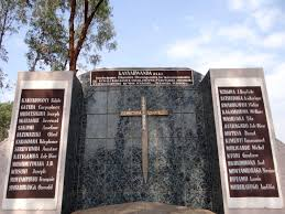 file monument over mass grave nyanza genocide memorial site  file monument over mass grave nyanza genocide memorial site kicukiro district kigali