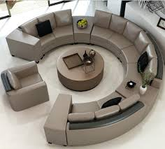 round sofa bed with storage table decor set for living room round sofa