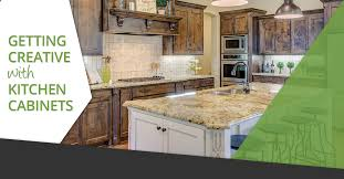 Creative Kitchen Design Fascinating Getting Creative With Kitchen Cabinets Denver Cabinet Express