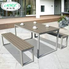 wrought iron and wood furniture. Wrought Iron And Wood Furniture Best Metal Outdoor Tables E