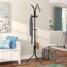 Hat And Coat Rack Stand Hat Rack Stand Wayfair 89