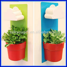 office flower pots. creative wall type office pot plant hanging potrain clouds the flower pots c