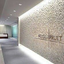 law office design pictures. plaster behind reception wall between with company name written office designlaw law design pictures 0