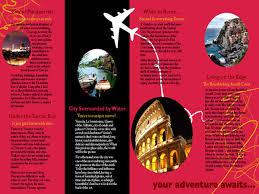 54 Best Travel Brochures Examples 2018 Cssdive