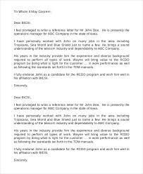 Sample Of A Recommendation Letter Client Reference Letter Template Sample Recommendation Letter For