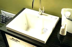 Bathroom Utility Sink Enchanting Drop In Utility Sink Laundry Room Sinks Remarkable Furniture Ideas