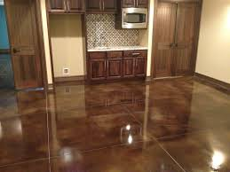 Astonishing Stained Concrete Kitchen Floor Inside They Create Customized  Polished