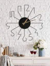 line wall clock wall decor myphotogift in