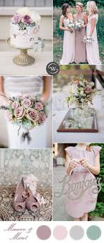 10 Romantic Spring & Summer Wedding Color Palettes for 2017 Brides