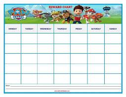 Potty Training Chart Printable Paw Patrol Paw Patrol Reward Chart Potty Training Reward Chart