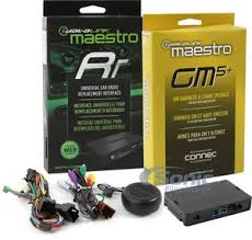 factory radio integration adapter radio replacement and steering idatalink maestro ads mrr hrn rr gm5
