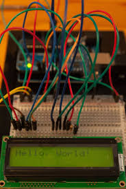 step by step lcd wiring 4 bit mode and programming examples for control wires and data wires