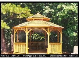 wooden gazebo dubai outdoor wooden gazebo clay stone roof gazebo dubai uae