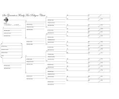 10 Generation Pedigree Chart Template 10 Generation Family Tree Template Www Imghulk Com