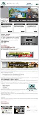 garage door repair jupiter website history