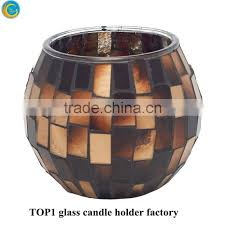 votive candle holders moroccan mosaic glass tea light