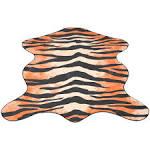 <b>Shaped Rug 150x220</b> cm Tiger Print Sale, Price & Reviews ...
