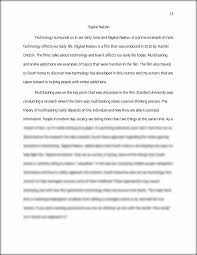 essay topics on technology gcse food technology coursework cafe  wrt digital nation essay digital nation technology this preview has intentionally blurred sections sign up to